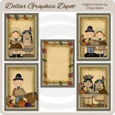 Thankful Harvest Cards - Printables