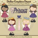 Princess Angels - Clip Art - *DGD Exclusive*