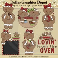 Gingerbread Lovin�- *DCS Exclusive*