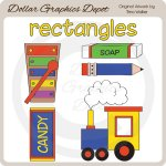 Shapes - Rectangles - Clip Art