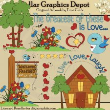 Live, Love, Laugh - Clip Art