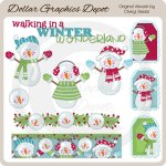 Winter Wonderland 1 - Clip Art