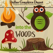 Into The Woods - Clip Art