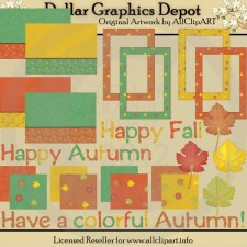 Happy Fall - Scrap Kit