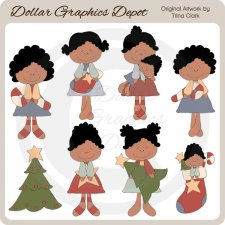 Christmas Fancies 2 - Clip Art
