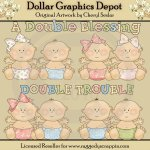 Double Trouble - Clip Art - *DGD Exclusive*
