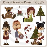Sweet Darlins - Christmas - Clip Art