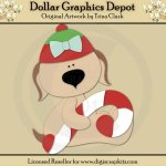 Yuletide Doggies 1 - Cutting Files / Paper Piecing Patterns