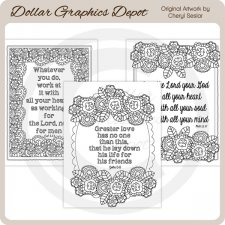 God's Word 3 - Coloring Pages