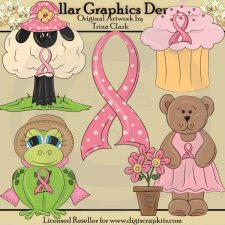 Breast Cancer Awareness - Clip Art