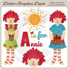 A Is For Annie - Clip Art