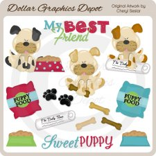 Our Sweet Puppy - Clip Art