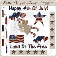 Americana Pride - Clip Art - *DCS Exclusive*