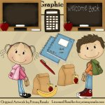Back to School - Clip Art