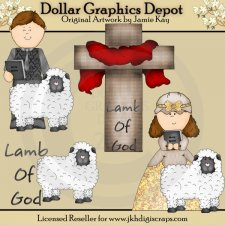 Lamb of God 2 - Clip Art