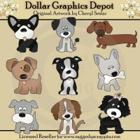 Dog Days - Clip Art - *DCS Exclusive*