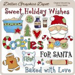 Cookies For Santa 1 - Clip Art