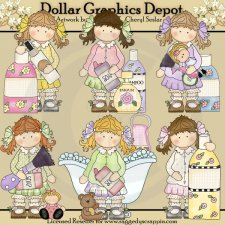 Holly Bath and Body - Clip Art