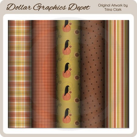 Autumn Delights - Scrap Papers