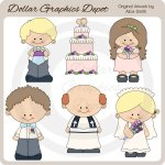 Wedding Party - Clip Art - *DGD Exclusive*