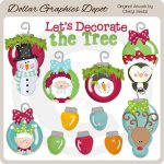 Let's Decorate The Tree - Clip Art