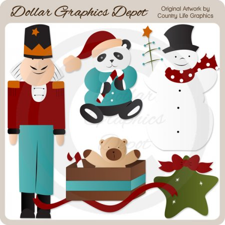 Christmas Cheer 1 - Clip Art