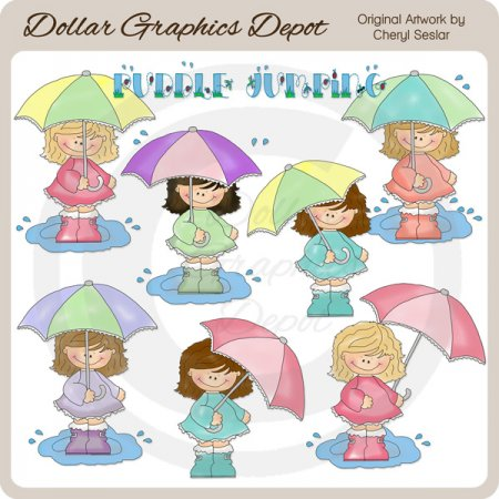 Puddle Jumpers - Clip Art