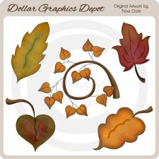 Autumn Leaves 3 - Clip Art