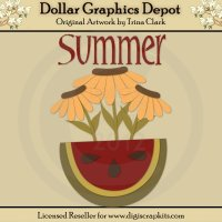 Summer Flowers 1 - Cutting Files / Paper Piecing Patterns