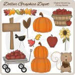 Fall Goodies - Clip Art
