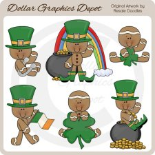 St. Patty's Gingers - Clip Art