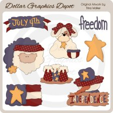 Independence Day - Clip Art