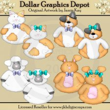 Roly Poly Critters - Clip Art - *DGD Exclusive*