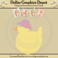Baby Talk 1 - Cutting Files / Paper Piecing Patterns
