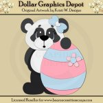Easter Panda 5 - Cutting Files / Paper Piecing - *DGD Exclusive*
