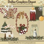 Christmas Goodies 1 - Clip Art