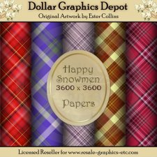 Happy Snowmen Papers