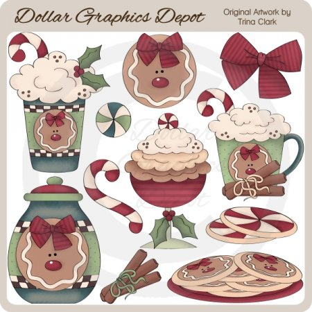 Christmas Sweets - Clip Art