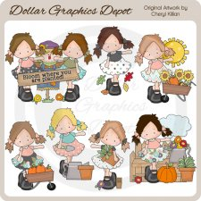 Cloey Ann - Days Of Fall - Clip Art