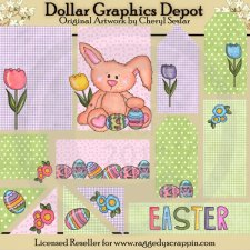 Easter Wishes - Scrappin Delights