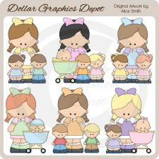 Babysitter 1 - Clip Art - *DCS Exclusive*