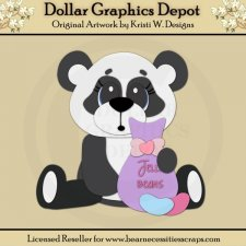 Easter Panda 2 - Cutting Files / Paper Piecing - *DGD Exclusive*