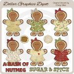 A Dash Of Nutmeg - Clip Art - *DGD Exclusive*