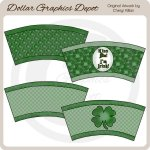 St. Patrick's Day - Cup Covers