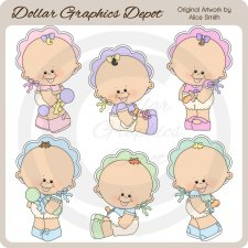 Baby's First Tooth - Clip Art - *DGD Exclusive*
