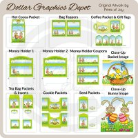 Easter Bunny Printable Set 1