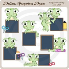 Hop To Learn 2 - Clip Art - *DGD Exclusive*