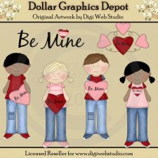 Be Mine - Clip Art