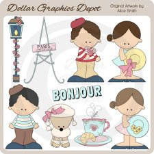 Paris - Clip Art - *DGD Exclusive*