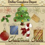 Christmas Cheer - Clip Art